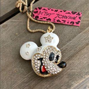 New Betsy Johnson Mickey Mouse sparkles